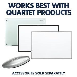Quartet Dry Erase Markers, Whiteboard Markers, Fine Point, Mini, Magnetic, ReWritables, Black, 12 Pack (48170) (Color: Black, Tamaño: 12-Pack)