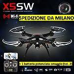 RC QUADRICOTTERO-DRONE Syma X5SW Wifi...