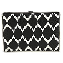 Ivanka Trump Ivanka Box Minaudiere Clutch, Black, One Size