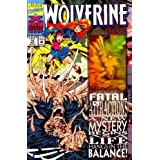 Wolverine #75 1993 X-Men Anniversary Hologram Cover Issue