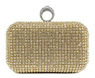 Scarleton Crystal Clutch Bag H322318…