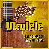 GHS ウクレレ弦セット H-10 ブラックナイロン