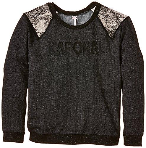 Kaporal - EFLOR, Felpa per bambine e ragazze, nero (black), 16 anni (Taglia produttore: 16 anni)
