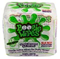 Boogie Wipes Natural Saline Kids and Baby Nose Wipes for Cold and Flu, Unscented, 90 Count