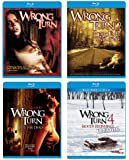 Wrong Turn Collection (1-4) [Blu-ray]