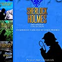 Sherlock Holmes: The Griffin Collection - Three Sherlock Holmes Mysteries in One Book (       UNABRIDGED) by Pennie Mae Cartawick Narrated by Simon Prebble