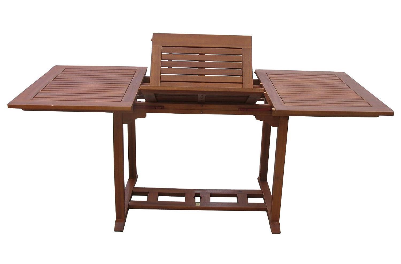 Gartentisch Cuba 120-180x90cm Akazienholz ausziehbar jetzt bestellen