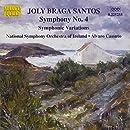 ブラガ・サントス:交響曲第4番/変奏交響曲