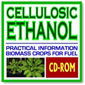 Cellulosic Ethanol - Biomass to Biofuels, Wood Chips, Stalks, Switchgrass, Plant Products, Feedstocks, Cellulose Conversion Processes, Research Plans (CD-ROM)