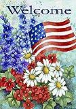 Toland Home Garden Patriotic Welcome 12.5 x 18-Inch Decorative USA-Produced Garden Flag