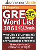 GRE Word List: 3861 GRE Words For High GRE Verbal Score (English Edition)