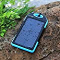 Solar Charger 5000mAh Innoo Tech Solar Power Bank Dual USB Port Portable Charger,Solar Battery Charger for iPhone,iPad,Cell Phone,Tablet,Camera,Waterproof,Dust-Proof and Shock-Resistant