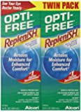 Opti-Free Replenish Multi-Purpose Disinfecting Solution, 20 Ounce (Pack of 3 (20 oz ea))
