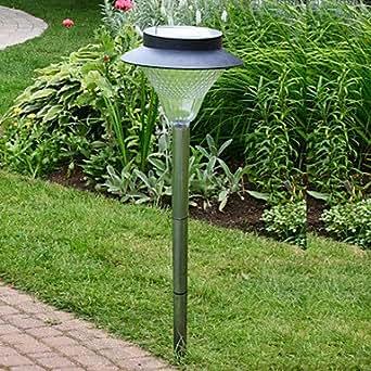 LED Solar Powered Lawn Light Garden Light Leh B