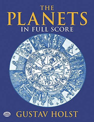 The Planets: In Full Score (Dover Music Scores)