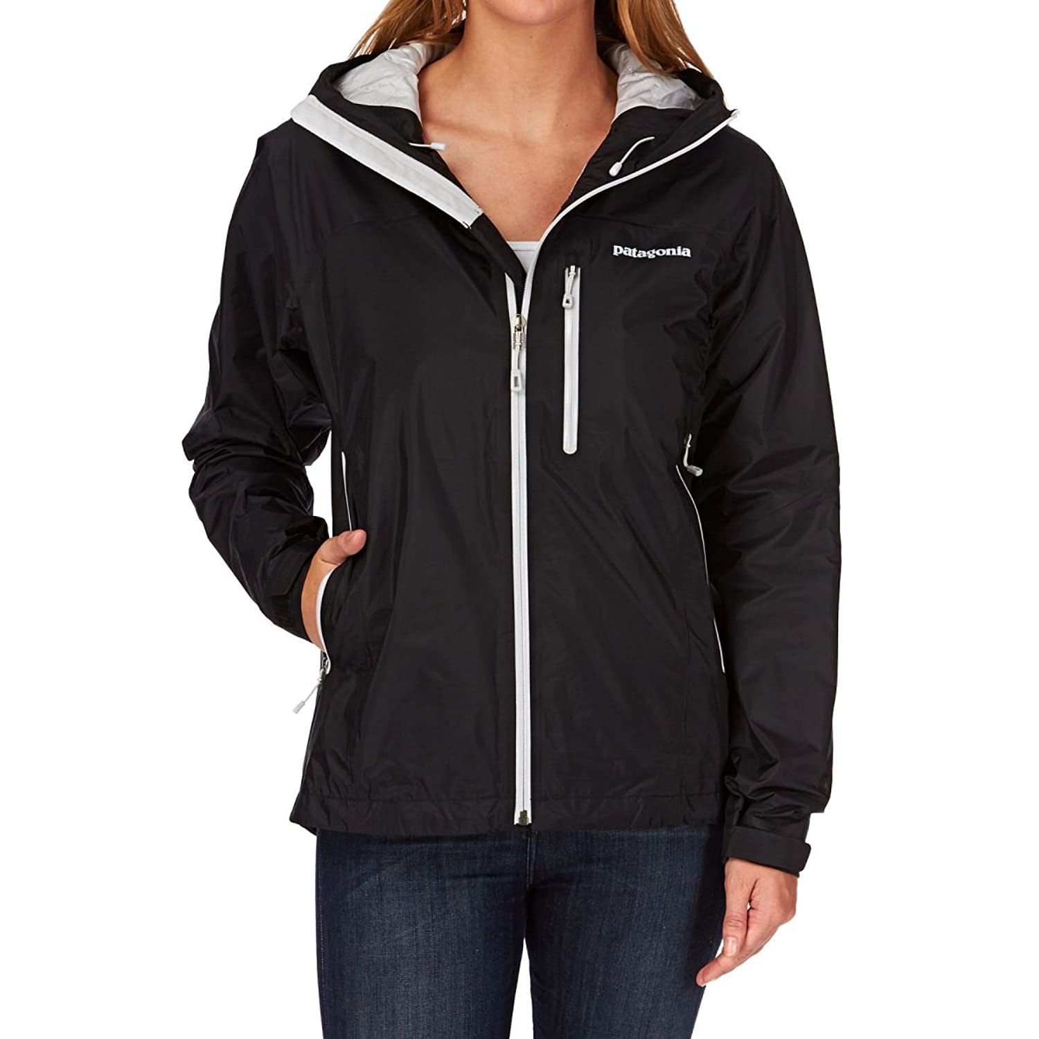 Patagonia Insulated Torrentshell Jacket - Black/tailored Grey
