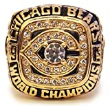 Chicago Bears 1985 Championship Ring - Walter Payton Replica - Cool Super Bowl Memorabilia or Great Gift!