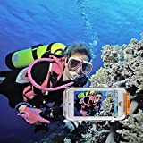KaLaiXing® 専門的で40メートル(130フィート)潜水可能なiPhone6プラス5.5インチ用防水収納撮影ダイビングケース--オレンジ色 [並行輸入品]