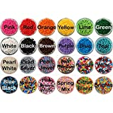 *FREE STANDARD SHIPPING - 8 oz. Crispie Sweets Brand Jimmies / Sprinkles - Pick Your Favorite Colors! We Ship Within 1 Business Day! (Pearl White)