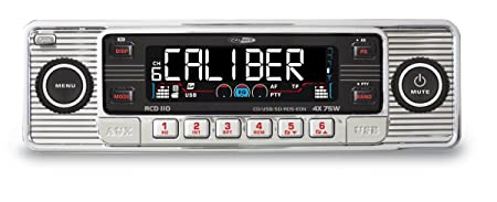 Autoradio CD/USB Caliber RCD-110 Classic chromé