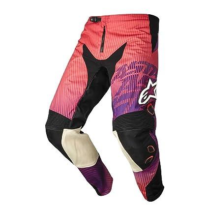 Pantalon Motocross Alpinestars 2014 Charger Rouge-Violet