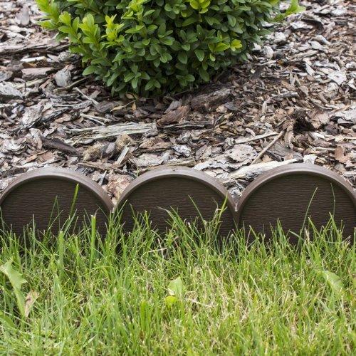 Prosperplast cordolo bordura da giardino colore marrone for Bordura giardino prezzo