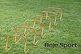 Bild: Agility Hundesport  6er Set Koordinationshürden 40 cm befüllbar