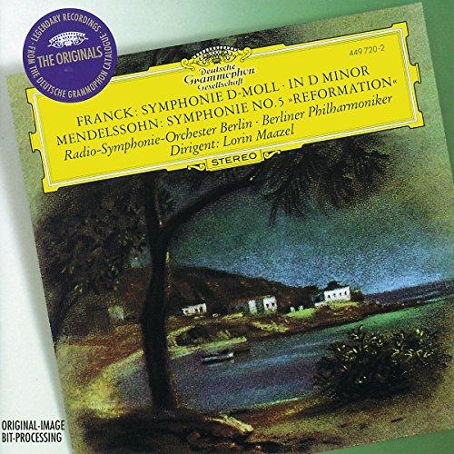 Franck: Symphony in D Minor / Mendelssohn: Symphony No. 5 Reformation (Franck Symphony In D Minor compare prices)