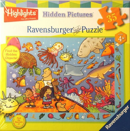 Ravensburger Hidden Pictures Puzzle Something's Fishy 35 Pieces Puzzle