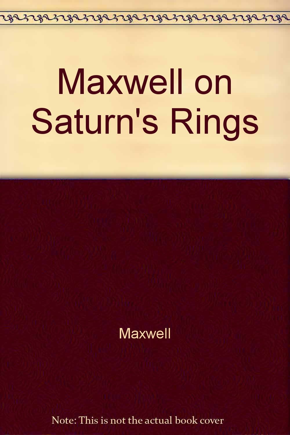 the rings of saturn essay Saturn has very large rings around it the first person to see these rings through a telescope was a scientist named galileo the distance of the rings around saturn are.