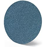 "Norton H875 NorZon Plus Abrasive Disc, Paper Backing, Adhesive Backed, Zirconia Alumina, 8"" Diameter, Grit 80 (Pack of 25)"