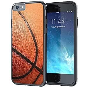 """iPhone 6 6s Case, True Color® Basketball Sports Collection Slim Hybrid Hard Back + Soft TPU Bumper Protective Durable [True Protect Series] iPhone 6 / 6s 4.7"""""""