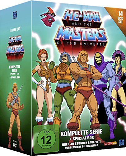 He-Man and the Masters of the Universe - Komplette Serie (14 Disc Set) [Edizione: Germania]