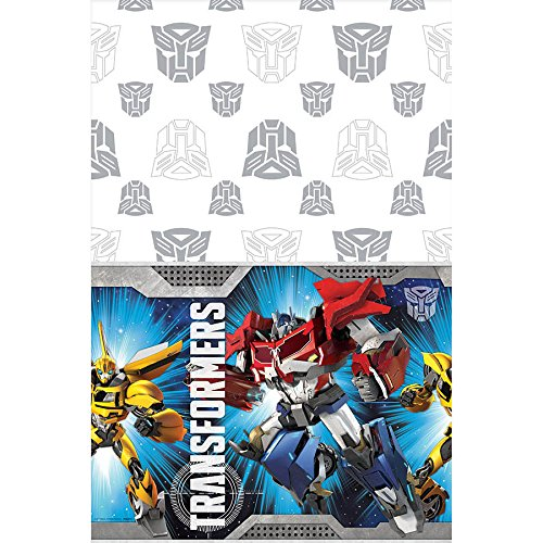 "Transformers Printed Tablecover 54"" x 96"""