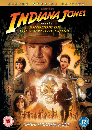 Indiana Jones and the Kingdom of the Crystal Skull (2 Disc Edition) [DVD]