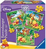 Ravensburger Winnie the Pooh 3 in a Box Jigsaw Puzzle