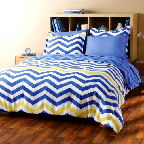 Navy blue and yellow bedding submited images - Yellow and blue bedding queen ...