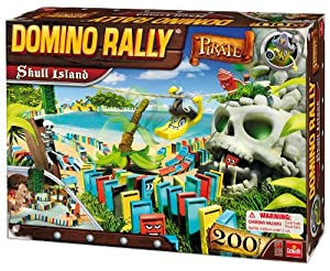 Amazon.com: Domino Rally Pirate Skull Island: Toys & Games
