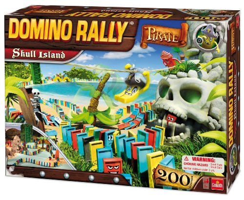 Domino Rally Pirate Skull Island - 1