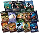 Willard Price Willard Price Adventure Collection - 14 Books RRP £83.86 (African Adventure; Amazon Adventure; Arctic Adventure; Cannibal Adventure; Diving Adventure; Elephant Adventure; Gorilla Adventure; Lion Adventure)