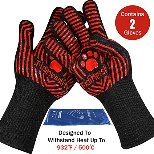 tidinesslife-grillhandschuhe-bbq-handschuhe-extrem-hitzebestandige-ofenhandschuhe-red