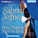 Don't Bargain with the Devil: School for Heiresses, Book 5 (       UNABRIDGED) by Sabrina Jeffries Narrated by Justine Eyre
