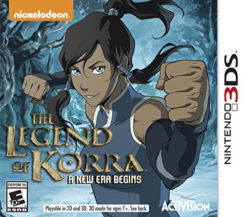 The Legend of Korra A New Era Begins - Nintendo 3DS - 1