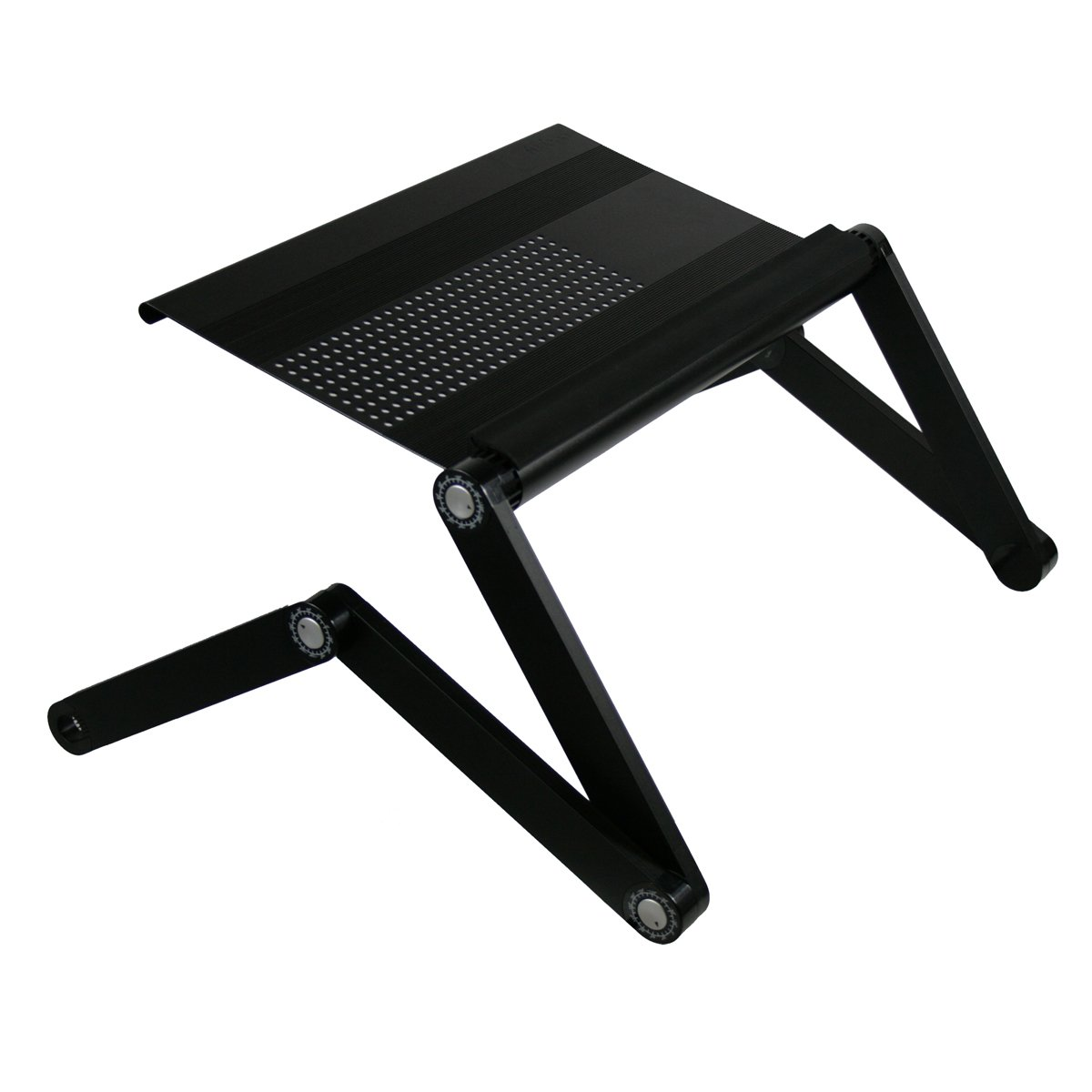 Furinno Adjustable Vented Laptop Table Laptop Computer Desk $39.99
