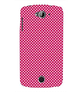Valentines Day pattern 3D Hard Polycarbonate Designer Back Case Cover for Acer Liquid Zade Z530 : Acer Liquid Zade Z530S