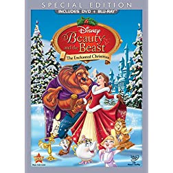 Beauty and the Beast: The Enchanted Christmas Special Edition (Two-Disc Blu-ray / DVD in DVD Packaging)