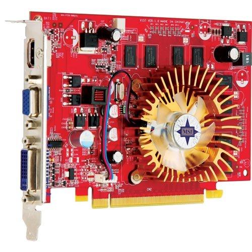 MSI nVidia GeForce 9500GT 1 GB DDR2 VGA DVI HDMI PCI-Express Video N9500GT-MD1G D2
