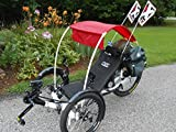 BIMINI TOP for Recumbent Trike, Sun, Shade, Rain Cover (TOP ONLY) SALE!