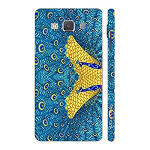Enthopia Designer Hardshell Case The Peacock's Reflection Back Cover for Samsung Galaxy Grand Max