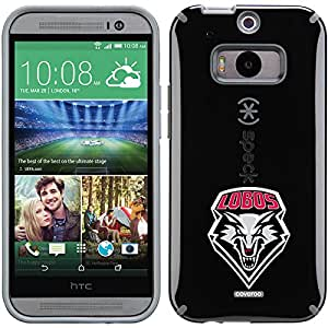 Coveroo CandyShell Cell Phone Case for HTC One M8 - Retail Packaging - University of New Mexico Lobos 1
